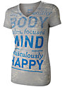 Reebok Happy V-Neck T-Shirt