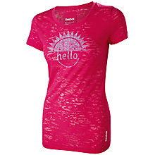 Buy Reebok Hello Yoga T-Shirt Online at johnlewis.com