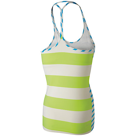 Buy Reebok Studio Fine Stripe Long Bra Top Online at johnlewis.com