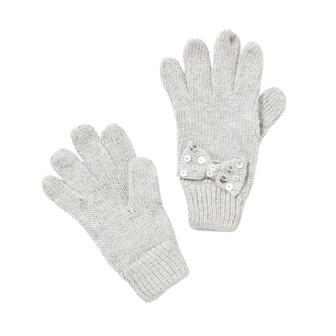 Buy John Lewis Girl Fine Knit Gloves Online at johnlewis.com