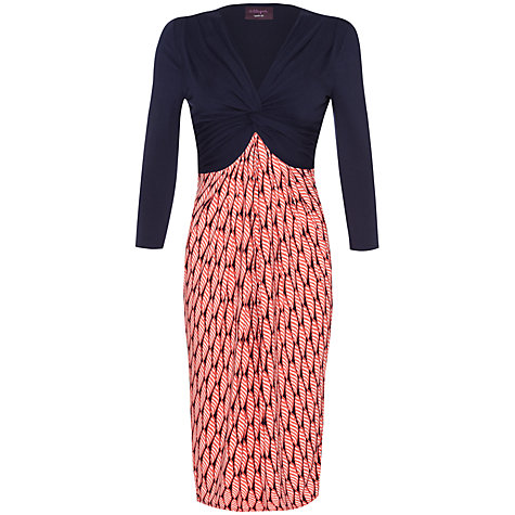 Buy allegra by Allegra Hicks Emma Dress, Shells Pink Online at johnlewis.com
