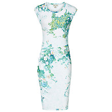 Buy Reiss Gilda Pointelle Print Day Dress, Multi Online at johnlewis.com