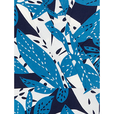 Buy allegra by Allegra Hicks Isabella Dress, Leaves Blue Online at johnlewis.com