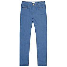 Buy Reiss Smith Cropped Jeans, French Blue Online at johnlewis.com