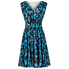 Buy Reiss Lunata Amanth Printed Fit and Flare Dress, Multi Online at johnlewis.com