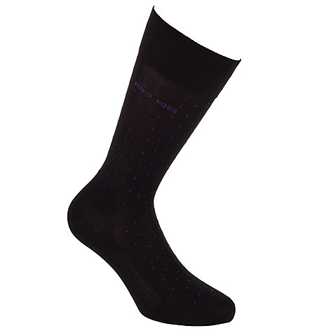 Buy Hugo Boss George Dots Socks Online at johnlewis.com