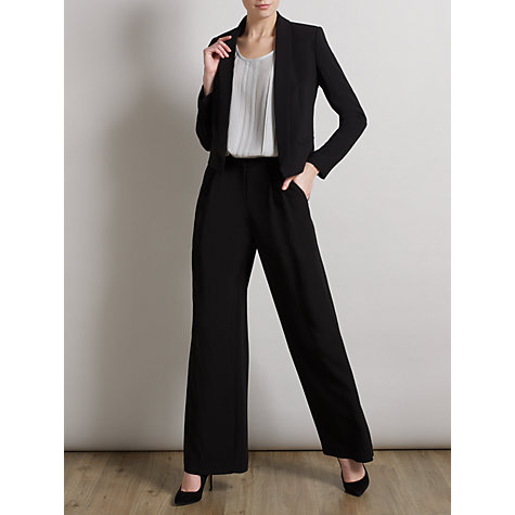 Buy Somerset by Alice Temperley Tuxedo Jacket, Black Online at johnlewis.com