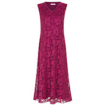 Buy Windsmoor Lace Dress, Pink Online at johnlewis.com