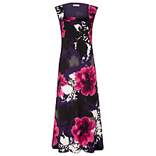 Buy Windsmoor Floral Bust Dress, Pink Online at johnlewis.com