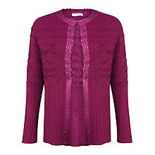 Buy Windsmoor Soft Crinkle Jacket, Pink Online at johnlewis.com