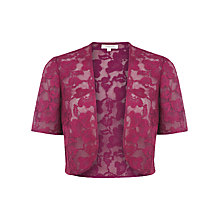 Buy Windsmoor Lace Bolero, Pink Online at johnlewis.com