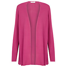 Buy Windsmoor Fine Knit Cardigan, Pink Online at johnlewis.com