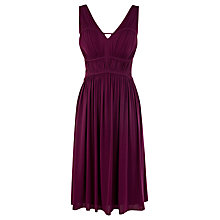 Buy Coast Mirage Dress, Purple Online at johnlewis.com