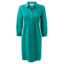 Buy East Linen Shirt Dress, Sardinia Online at johnlewis.com