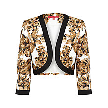 Buy Jacques Vert Crop Jacket, Multi Online at johnlewis.com