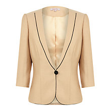 Buy Jacques Vert Jacket, Light Caramel Online at johnlewis.com