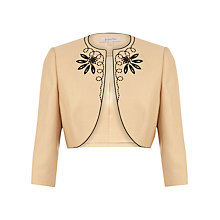 Buy Jacques Vert Bolero, Light Caramel Online at johnlewis.com