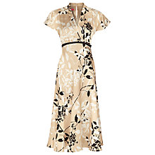 Buy Jacques Vert Ascot Print Tea Dress, Multi Online at johnlewis.com