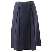 Buy East Panel Details Delave Skirt, Denim Online at johnlewis.com