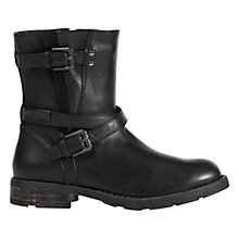 Buy Geox Sofia Boots, Black Online at johnlewis.com