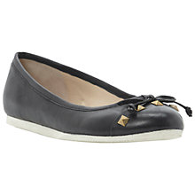 Buy Dune Mercy Studded Toe Cap Ballerina Shoes Online at johnlewis.com