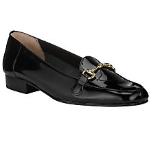 Buy John Lewis Roberta Loafers, Black Online at johnlewis.com