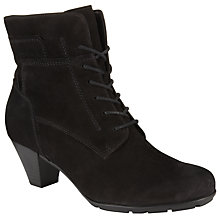 Buy Gabor National Ankle Boots, Black Online at johnlewis.com