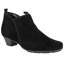 Buy Gabor Trudy Suede Ankle Boots Online at johnlewis.com