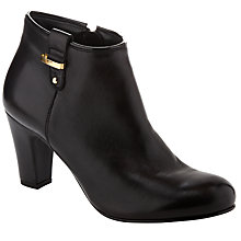 Buy John Lewis Hilda Ankle Boots, Black Online at johnlewis.com