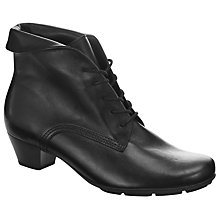 Buy Gabor Vastra Ankle Boots, Black Online at johnlewis.com