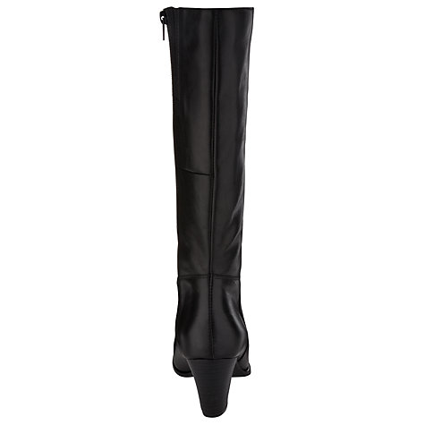 Buy John Lewis Frankie Knee Boot, Black Online at johnlewis.com