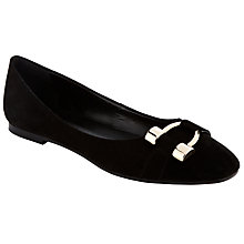 Buy John Lewis Pauline Pump Shoes, Black Online at johnlewis.com