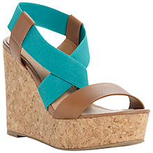 Buy Steve Madden Terror Wedged Sandals Online at johnlewis.com