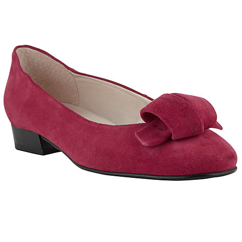 Buy John Lewis Ursula Folded Trim Court Shoes Online at johnlewis.com