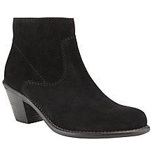 Buy John Lewis Hettie Ankle Boots, Black Online at johnlewis.com