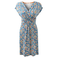 Buy East Marisa Print Jersey Dress, Ceramic Online at johnlewis.com