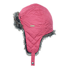 Buy Barbour Margrove Trapper Hat, Juniper Online at johnlewis.com