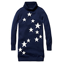 Buy Tommy Hilfiger Girls' Sheena Jumper Dress, Navy Online at johnlewis.com