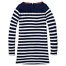 Buy Tommy Hilfiger Girls' Jaqueline Long Sleeved Dress Online at johnlewis.com