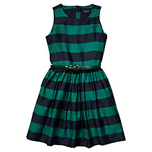 Buy Tommy Hilfiger Girls' Spectator Stripe Dress, Shady Glade Online at johnlewis.com