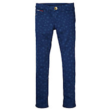 Buy Tommy Hilfiger Girls' Naomi Skinny Star Jeans, Blue Online at johnlewis.com