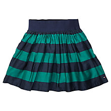 Buy Tommy Hilfiger Girls' Spectator Stripe Skirt, Shady Glade Online at johnlewis.com
