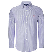 Buy Polo Golf by Ralph Lauren Long Sleeved Bengal Stripe Shirt Online at johnlewis.com