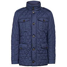 Buy Hackett London Holborn Fitted Quilted Jacket Online at johnlewis.com