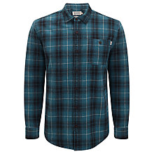 Buy Farah 1920 Hasley Long Sleeve Check Shirt, Blue/Navy Online at johnlewis.com