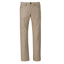 Buy Armani Jeans Herringbone Weave Trousers Online at johnlewis.com