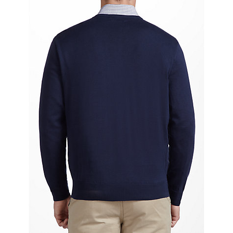 Buy Polo Golf by Ralph Lauren V-Neck Cotton Jumper Online at johnlewis.com