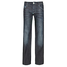 Buy Armani Jeans Mid Wash Straight Jeans Online at johnlewis.com