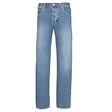 Buy Armani Jeans Regular Fit Jeans, Mid Wash Online at johnlewis.com