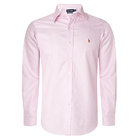 Buy Polo Golf Long Sleeved Bengal Stripe Shirt Online at johnlewis.com